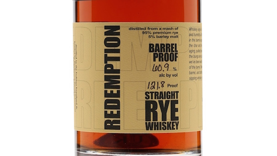 redemption rye long