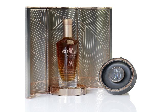 Pernod Ricard Glenlivet bottle